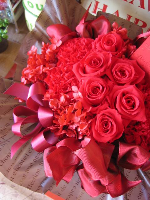 赤バラ 誕生日プレゼント 花 フラワー プリザーブドフラワー