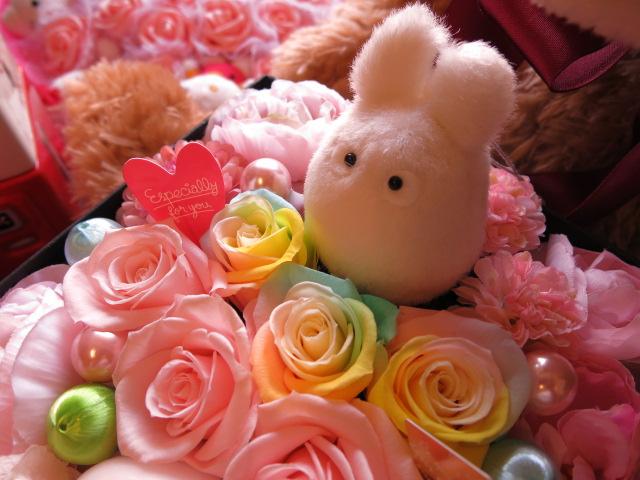 白トトロ 花 フラワーギフト